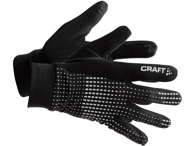 Craft Brilliant 2.0 Thermal Gloves Unisex black solid
